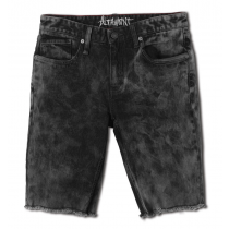 ALTAMONT ALTAMONT ALAMEDA SLIM DENIM SHORT WORN BLACK