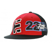 ETNIES ETNIES TABLE TOP 210 FIT HAT BLACK RED