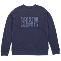 BRIXTON BRIXTON SWEAT COVENTRY CREW WASHED NAVY