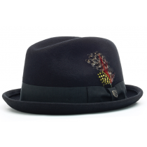 BRIXTON GAIN FEDORA black