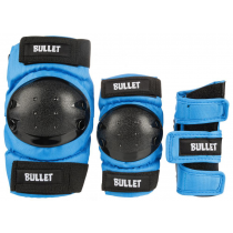 BULLET BULLET JUNIOR COMBO (PACK DE PROTECTIONS ENFANT) BLUE