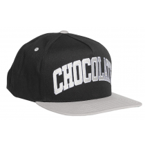 CHOCOLATE CHOCOLATE CAP ARCHED LEAGUE SNAPBACK BLACK