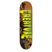 CREATURE CREATURE DECK STAINED XS ORANGE 27.6 X 7.4