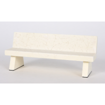 CLOSE UP CLOSE UP MARBLE BENCH (BANC POUR FINGERSKATE) WHITE