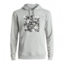 DC SQUARE HOODIE grey heather
