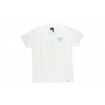 DIAMOND DIAMOND POLO EMBLEM WHITE