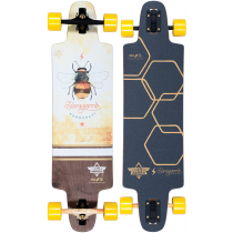 DUSTERS DUSTERS COMPLETE LONGBOARD LITE HONEYCOMB 36 YELLOW