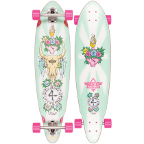 DUSTERS DUSTERS COMPLETE LONGBOARD GN4LW GYPSY QUEEN 35 PINK