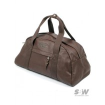 EASTPAK COMPACT brown leather