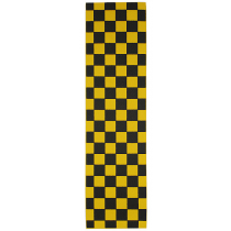 FKD FKD GRIP PLAQUE (L'UNITE) CHECKER BLACK YELLOW