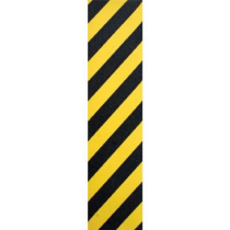 FKD FKD GRIP PLAQUE (L'UNITE) HAZARD YELLOW BLACK