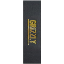 GRIZZLY GRIZZLY GRIP PLAQUE (L'UNITE) STAMP PRINT GOLD