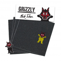GRIZZLY GRIZZLY GRIP PLAQUE (L'UNITE) PRO NICK TUCKER WOLF PACK