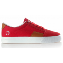 HUF HUF FTW SOUTHERN SUEDE LEATHER CANVAS RED TAN