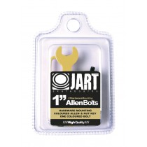 JART HARDWARE BLISTER MOUNTING BOLTS 1'' allen and tool