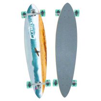 SAN CLEMENTE SAN CLEMENTE COMPLETE LONGBOARD GOOD LUCK 38 X 8.75