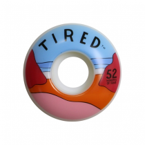 TIRED TIRED WHEELS (JEU DE 4) BEACH 52MM