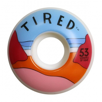 TIRED TIRED WHEELS (JEU DE 4) BEACH 53MM