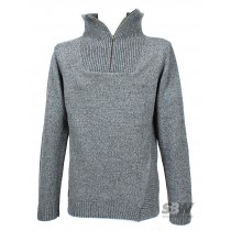 VOLCOM BROTHER TRUCKER  SWEATER charcoal