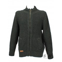 VOLCOM REAL ONE CARDIGAN military