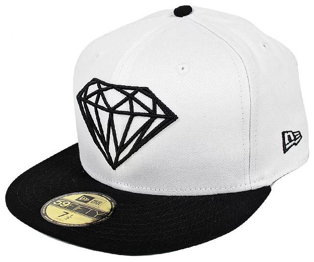 935de65473e DIAMOND DIAMOND CAP BRILLIANT FITTED WHITE. -30%