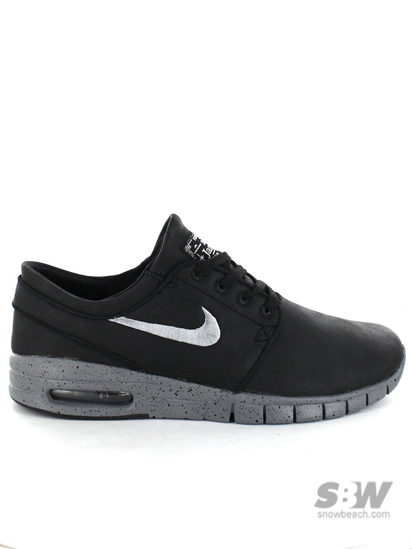NIKE SB STEFAN JANOSKI MAX L QS NYC black mettalic cool grey cool grey