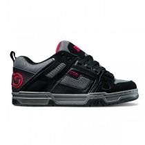 e3a2824c286fc3 DVS COMANCHE black charcoal red nubuck deegan