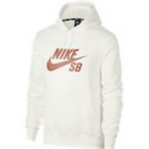 Nike SB Icon Hoodie Summit WhiteRose Gold